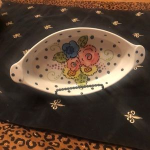 """Garden Party"", Whimsical Serving Dish!"